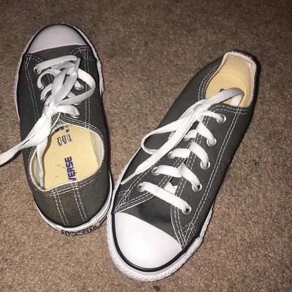 719718089ae5 Converse Other - Converse All star chucks sneakers dark grey 1